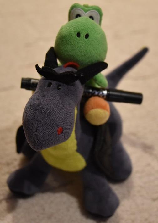 Yoshi und Luna bringen benötigte Dinge