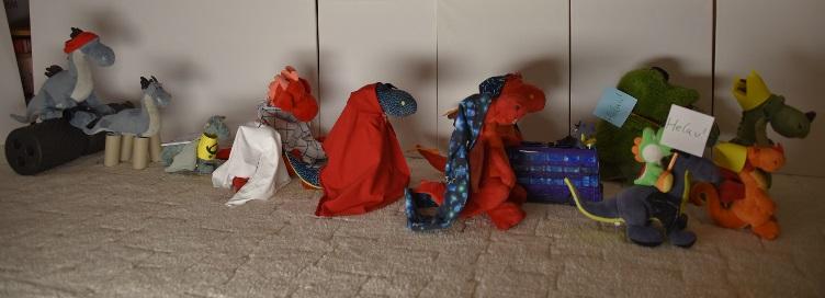 Der Drachen-Karnevalsumzug