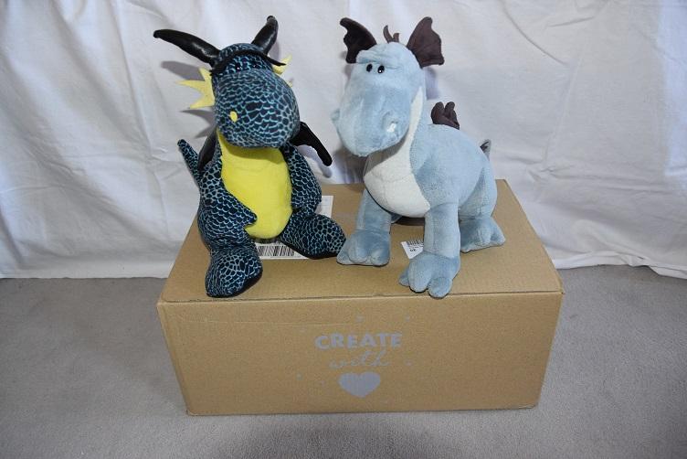 Kiwii und Sirius mit Stoffpaket