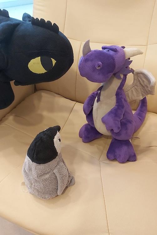 Zähnchen und Pimmi bringen Violetta sprechen bei