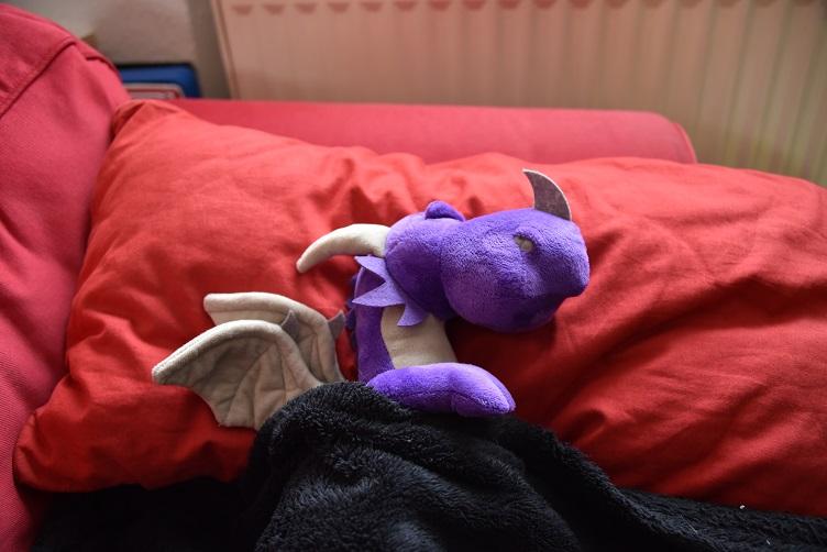 Violetta schläft