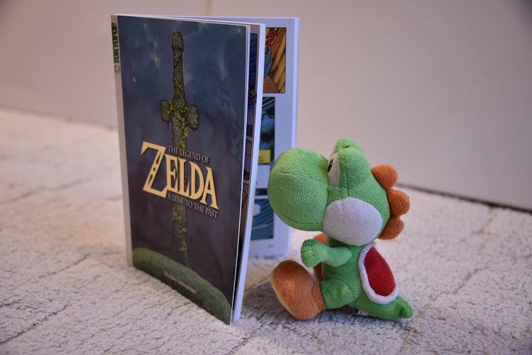 """Yoshi liest """"Zelda""""-Comic"""