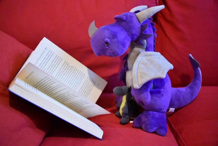 """Violetta und Lina lesen zusammen """"Der Drachenflüsterer"""""""