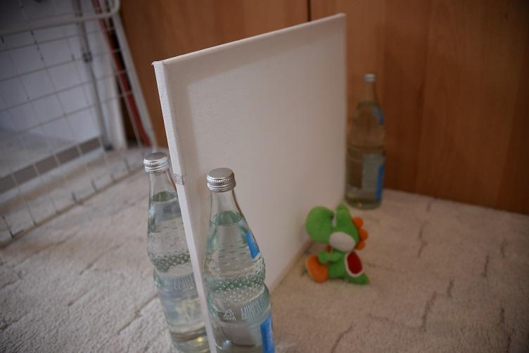 Yoshi vor der Wand