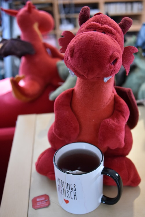 Ruby hält Tee bereit