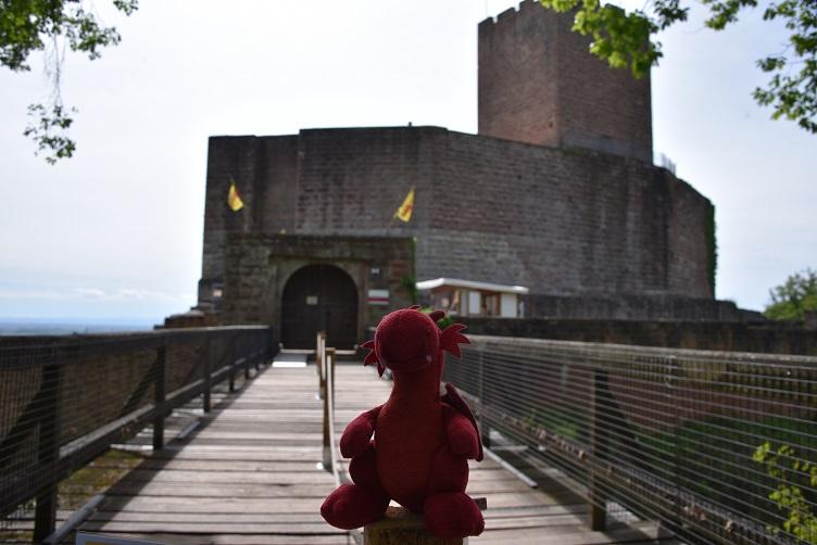 Flämmchen bei Burg Landeck