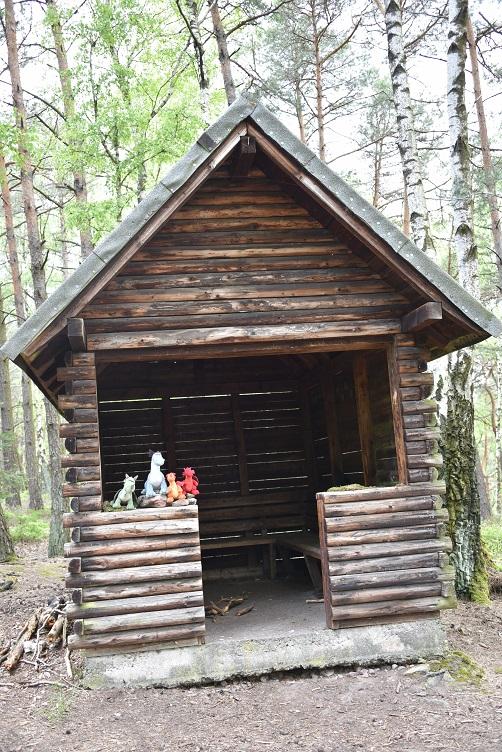 Die Drachen in der Hütte