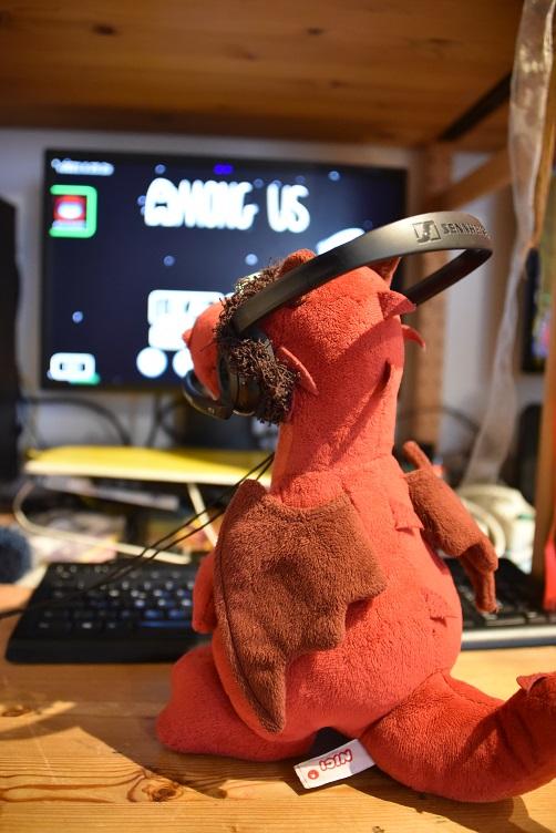 Ruby schaut beim virtuellen Spielabend rein