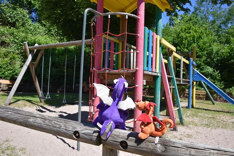 Violetta möchte auf den Spielplatz