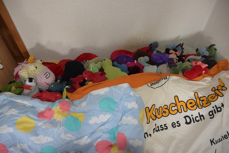Kuschelzeit im Bett