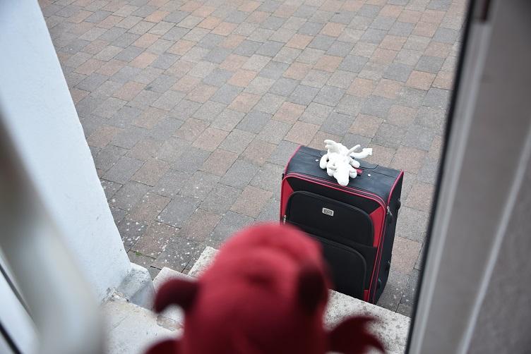 Ruby öffnet Frosty die Tür