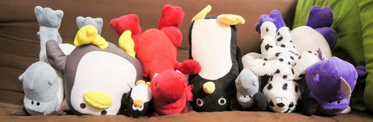 Drachis mit der Pinguinbande