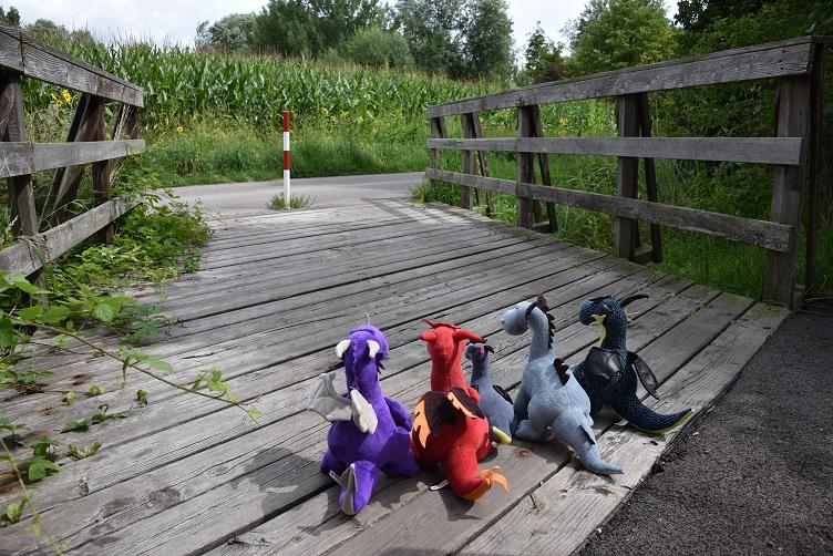 Drachis auf der Brücke