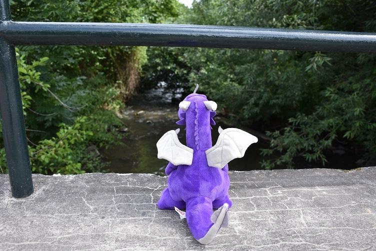 Violetta auf der Brücke