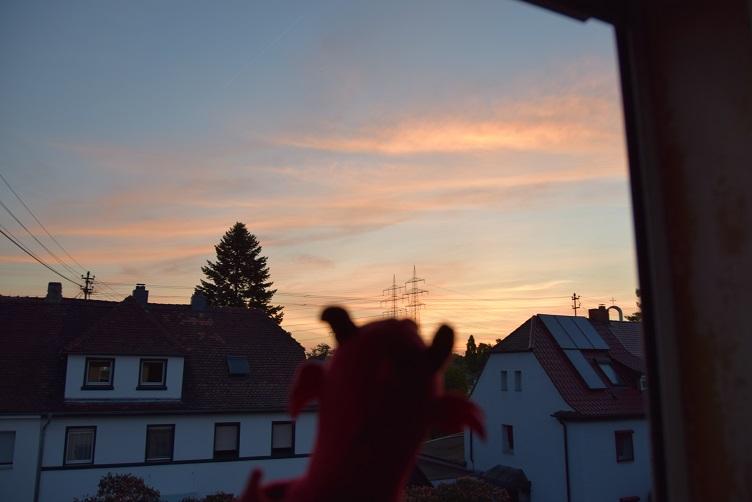 Ruby im Sonnenaufgang